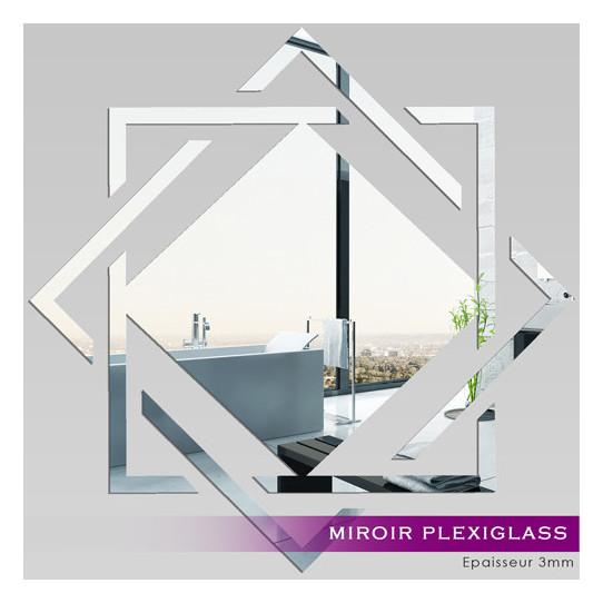 Miroir plexiglass acrylique design 5 des prix 50 for Miroir pas cher design