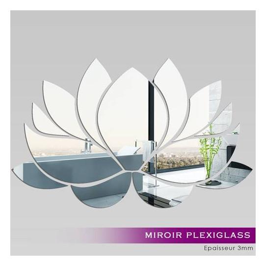 Miroir plexiglass acrylique n nuphar des prix 50 for Miroir 50x80