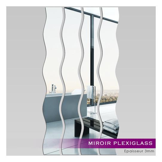 Miroir plexiglass acrylique verticales 1 des prix 50 for Miroir acrylique