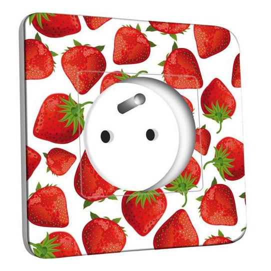 Prises et interrupteurs pour cuisines sur stickers muraux for Prise cuisine design