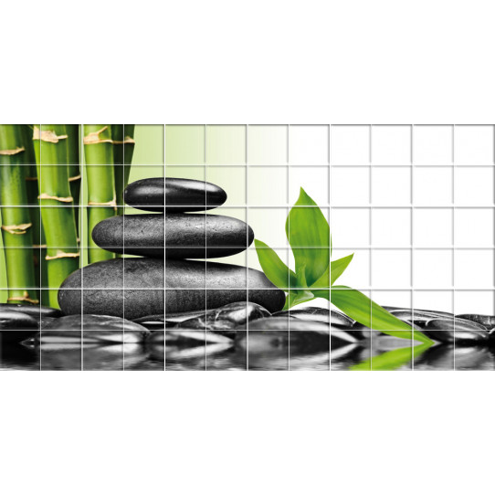 Stickers carrelage galets des prix 50 moins cher qu 39 en for Carrelage galets