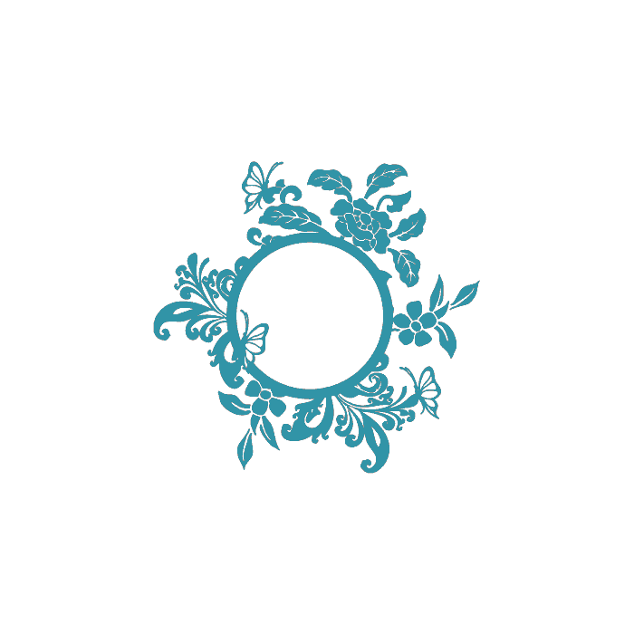 Autocollant-Stickers-Miroir-Papillons-Ref-ODZ2222