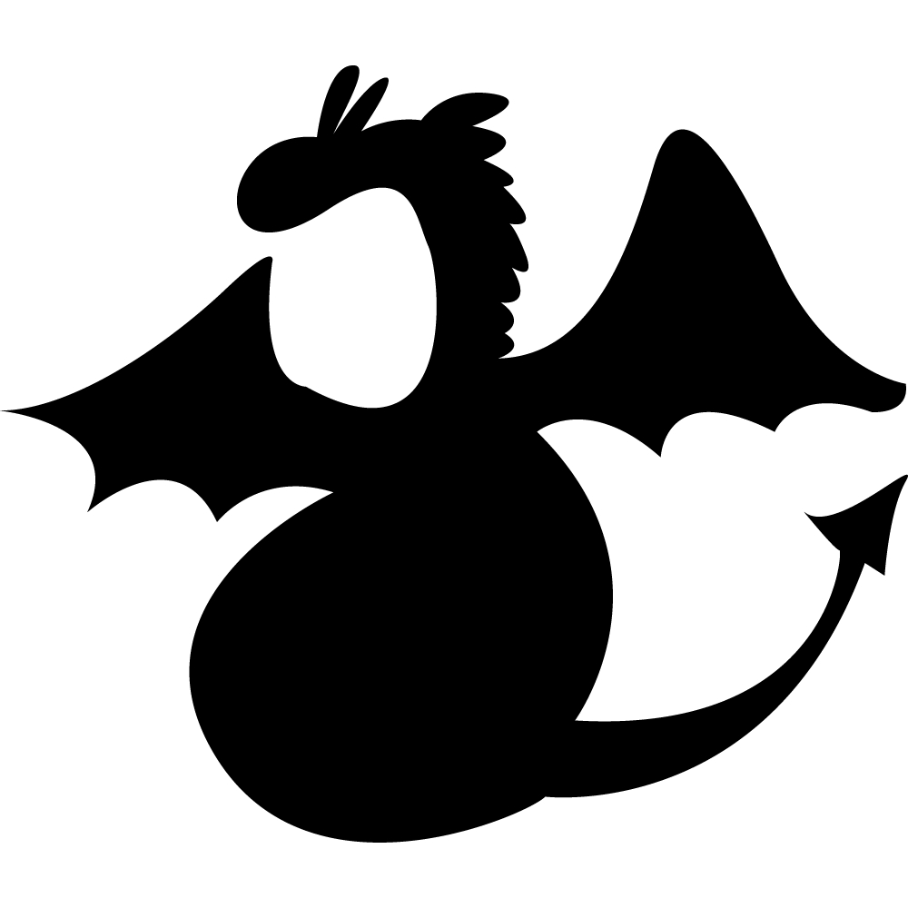 Stickers ardoise dragon des prix 50 moins cher qu 39 en magasin - Pose stickers muraux ...