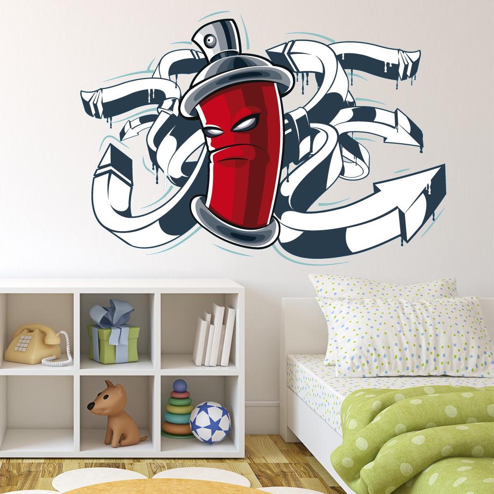 stickers bombe peinture des prix 50 moins cher qu 39 en. Black Bedroom Furniture Sets. Home Design Ideas