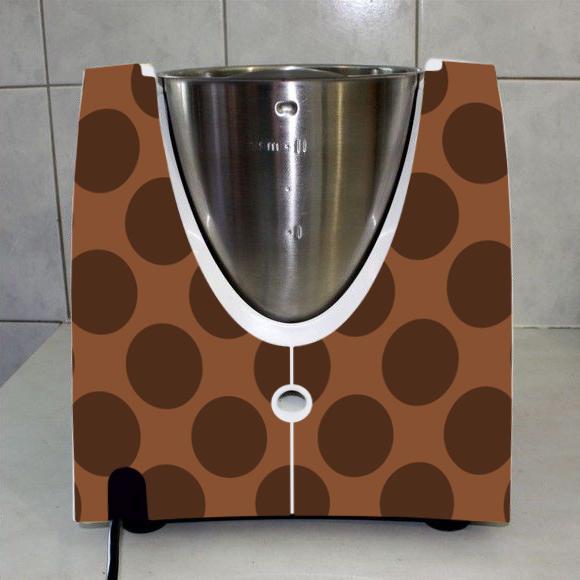 stickers thermomix tm 31 rond chocolat des prix 50 moins cher qu 39 en magasin. Black Bedroom Furniture Sets. Home Design Ideas