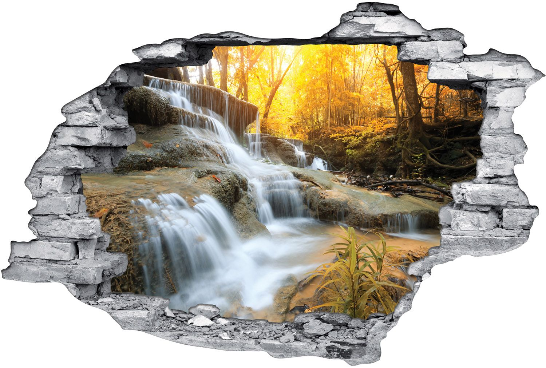 Stickers Trompe l'oeil 3D Rivre Fort - Des prix 50% moins