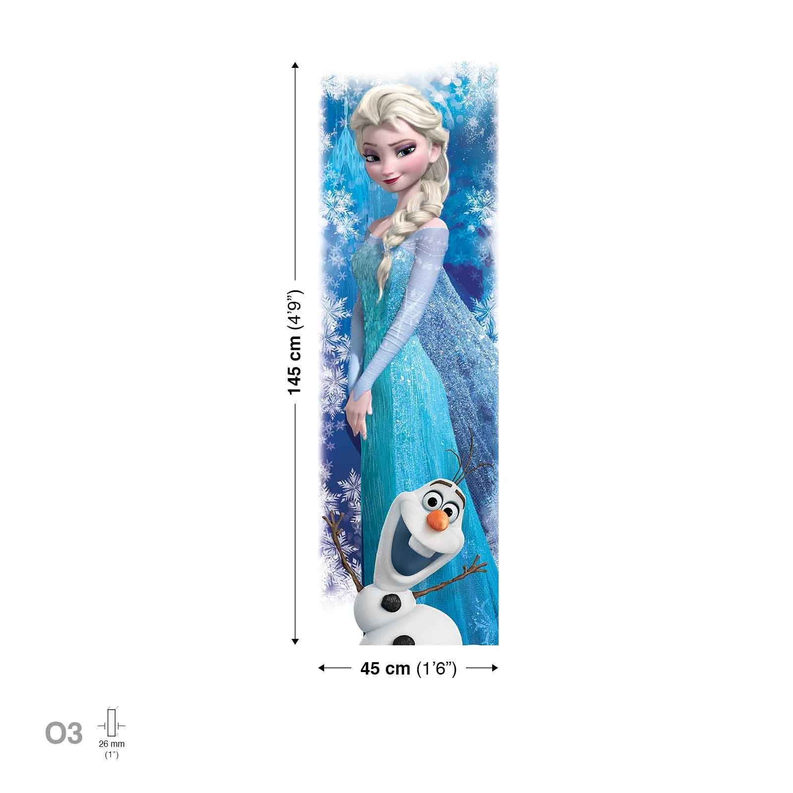 tableau 145x45 cm la reine des neiges des prix 50 moins. Black Bedroom Furniture Sets. Home Design Ideas