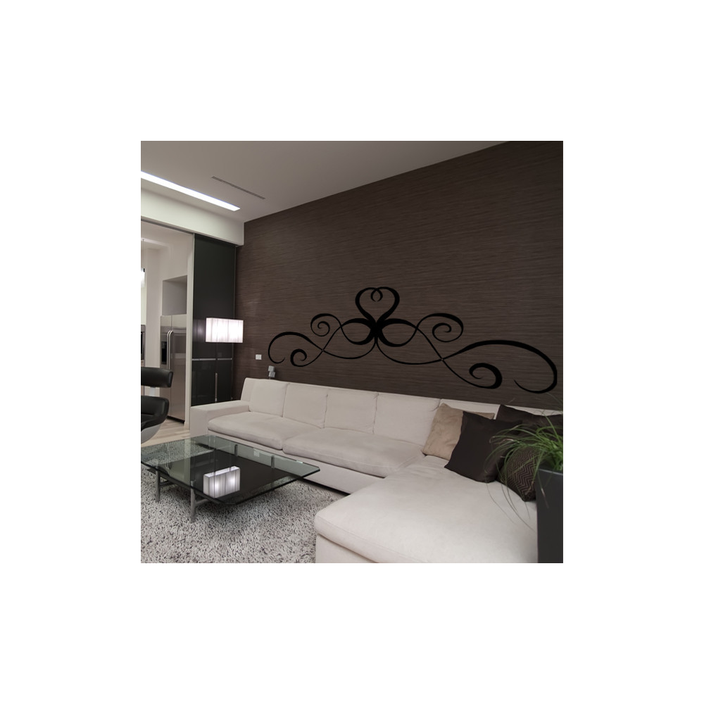 stickers t te de lit ref odz2147 bleu clair 57x163 cm ebay. Black Bedroom Furniture Sets. Home Design Ideas