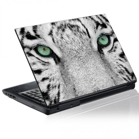 Stickers PC Tigre Blanc