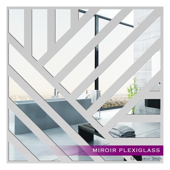 Miroir plexiglass acrylique carr des prix 50 moins for Stickers muraux miroir pas cher