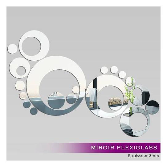 Miroir plexiglass acrylique design 7 des prix 50 - Miroirs muraux design ...