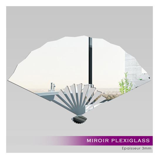 Miroir Acrylique Plexiglass Evantail