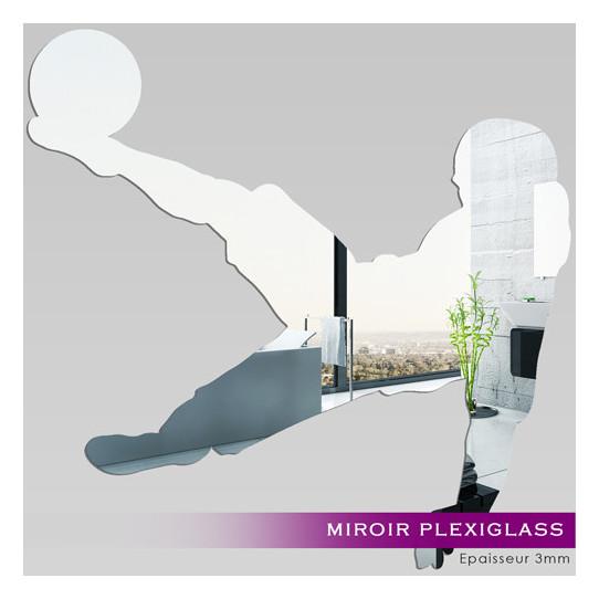 Miroir plexiglass acrylique footballeur des prix 50 for Miroir acrylique