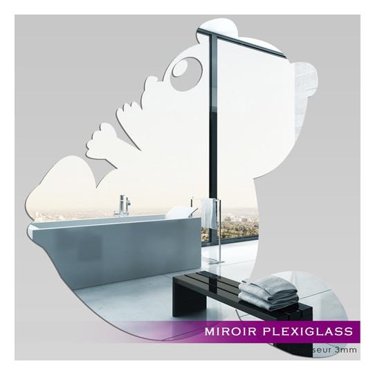 Miroir plexiglass acrylique panda des prix 50 moins for Miroir acrylique