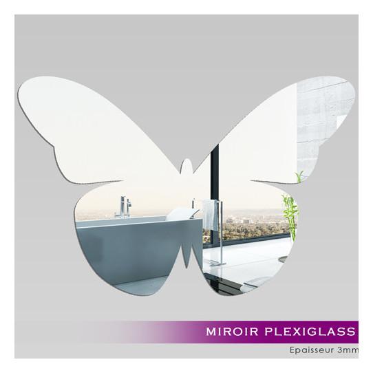 Miroir Acrylique Plexiglass Papillon 4