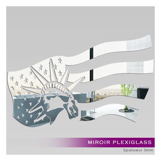 Miroir plexiglass acrylique united state des prix 50 - Stickers miroir cuisine ...