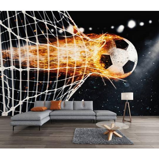 Papier Peint Football Des Prix 50 Moins Cher Qu En Magasin