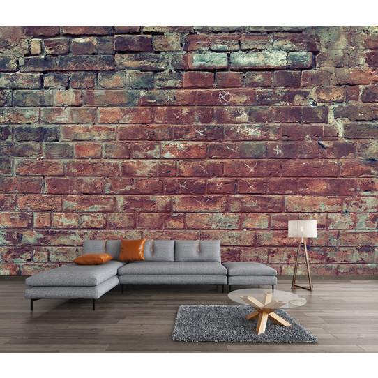 papier peint mur en brique des prix 50 moins cher qu 39 en magasin. Black Bedroom Furniture Sets. Home Design Ideas