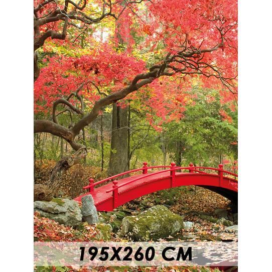 Papier peint pont asie