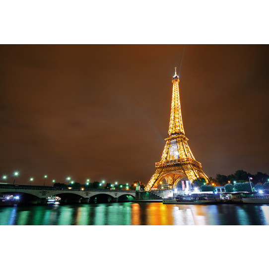 poster affiche paris tour eiffel des prix 50 moins cher qu 39 en magasin. Black Bedroom Furniture Sets. Home Design Ideas