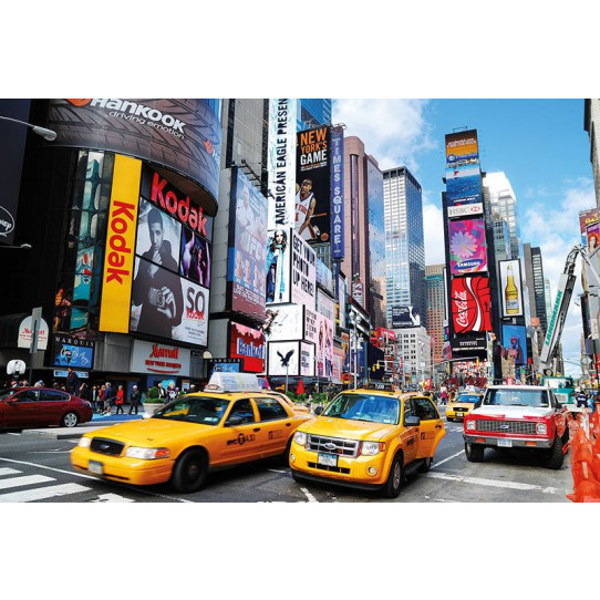 poster affiche taxi new york des prix 50 moins cher qu 39 en magasin. Black Bedroom Furniture Sets. Home Design Ideas