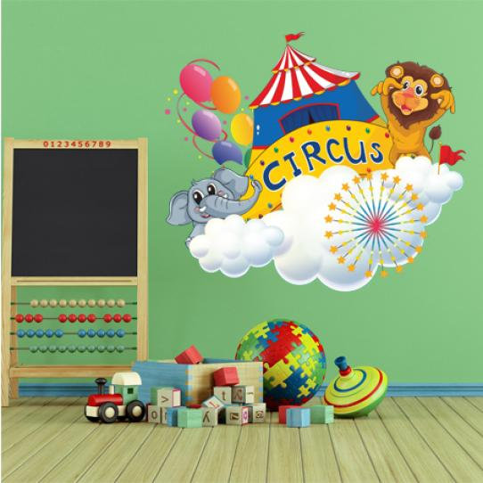 Stickers animaux circus