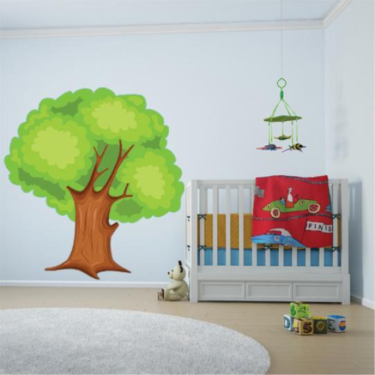 Autocollant Stickers muraux enfant arbre