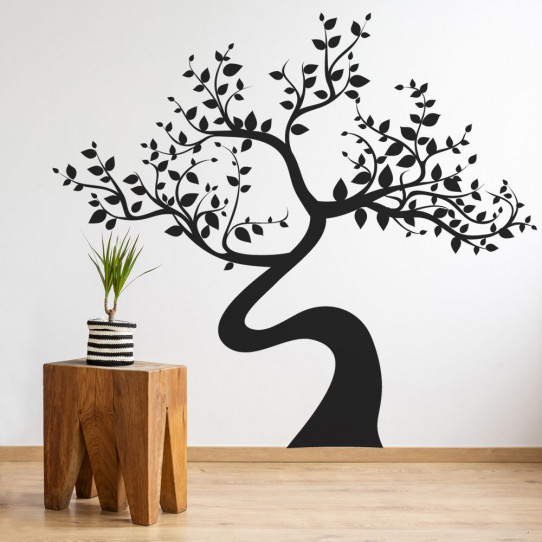 Stickers arbre asie