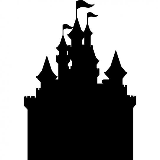 Stickers ardoise chateau