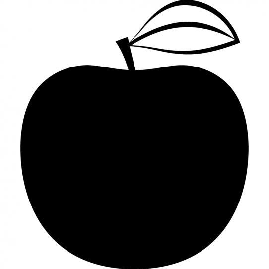 Stickers ardoise fruit
