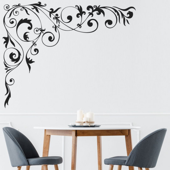 stickers baroque des prix 50 moins cher qu 39 en magasin. Black Bedroom Furniture Sets. Home Design Ideas