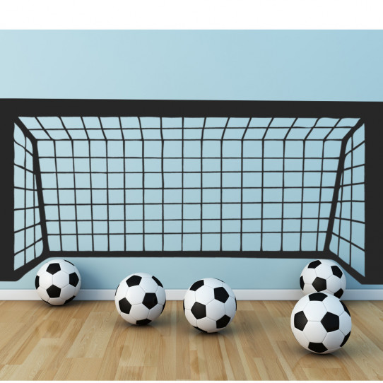 stickers cage football des prix 50 moins cher qu 39 en magasin. Black Bedroom Furniture Sets. Home Design Ideas