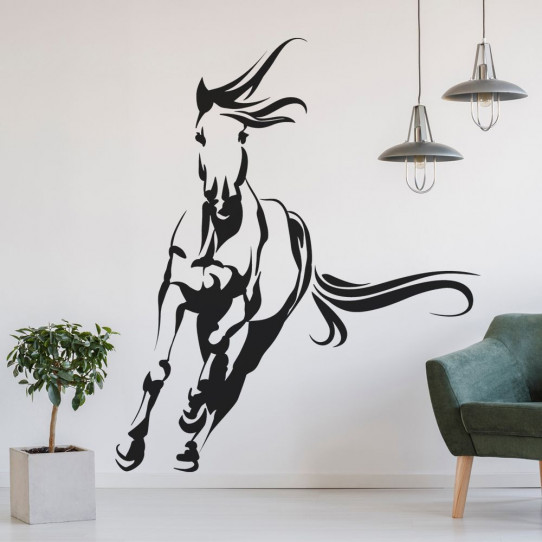 Stickers cheval