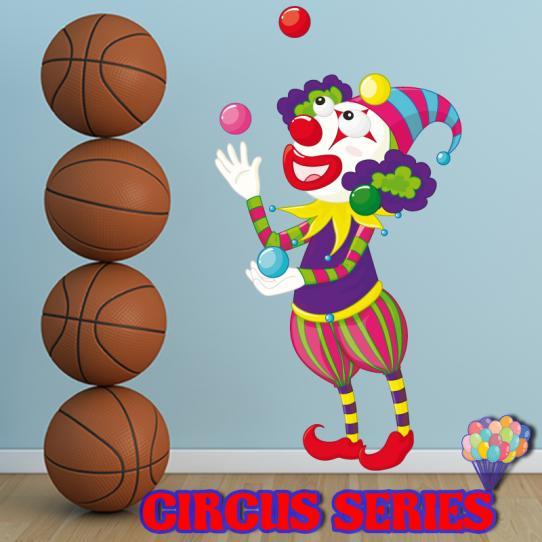 Autocollant Stickers muraux enfant clown