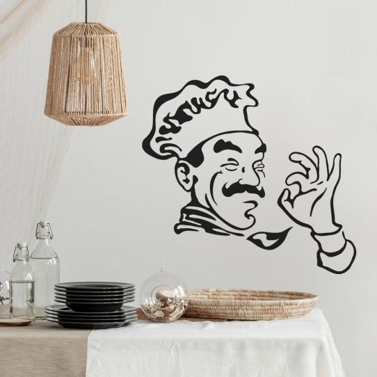 Stickers cuisine chef