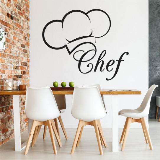 Stickers cuisine toque chef