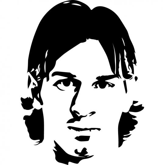 Stickers Foot lionel messi