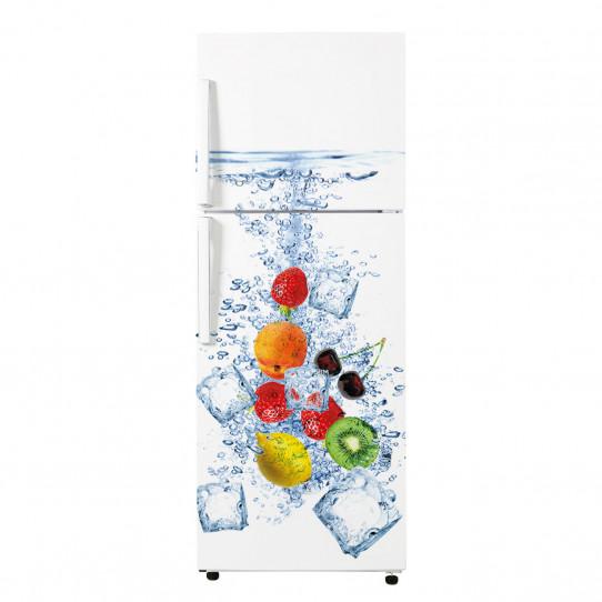 stickers frigo fruits 5 des prix 50 moins cher qu 39 en magasin. Black Bedroom Furniture Sets. Home Design Ideas