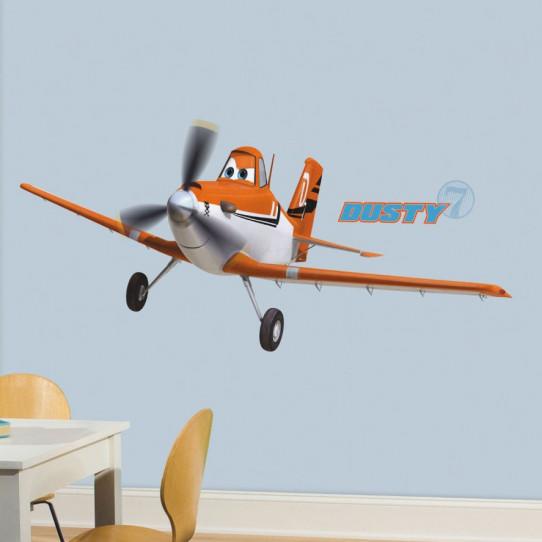 Stickers géant Dusty Crophopper Planes Disney - Des prix 50% moins ...