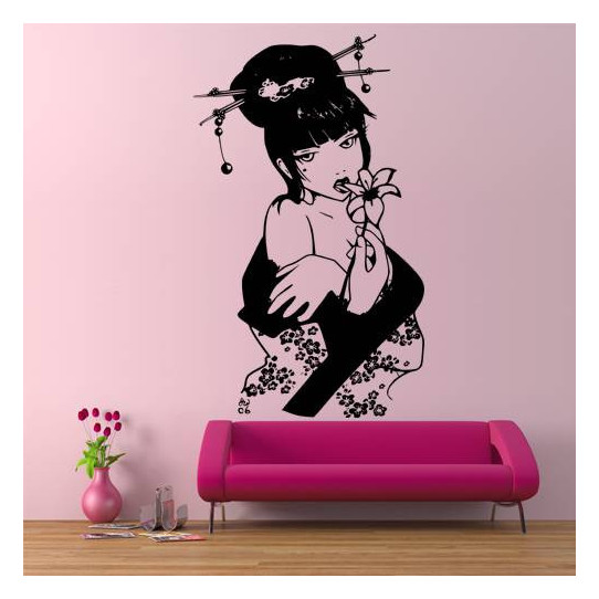 Stickers Geisha