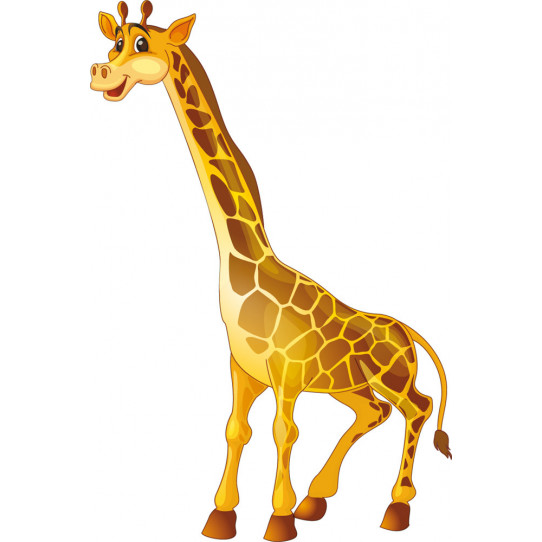 Autocollant Stickers girafe