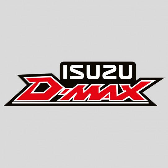 Stickers isuzu d-max