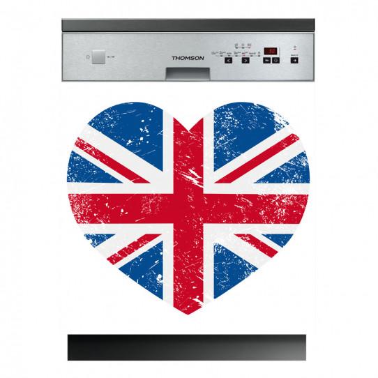 Stickers lave vaisselle coeur anglais - Des prix 50% moins cher qu ...