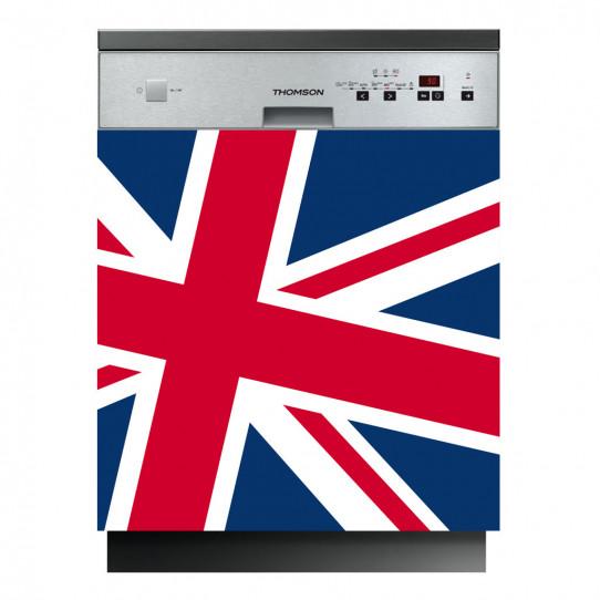 Stickers lave vaisselle drapeau anglais des prix 50 moins cher qu 39 en m - Vaisselle style anglais ...