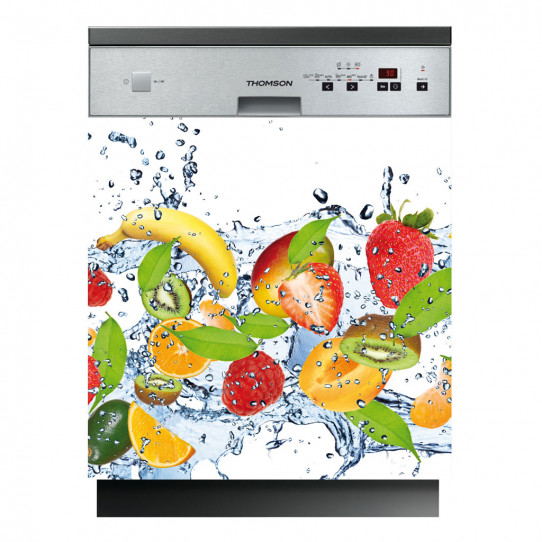 Stickers lave vaisselle fruits des prix 50 moins cher for Stickers pour lave vaisselle