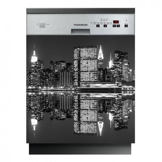 stickers lave vaisselle new york des prix 50 moins cher qu 39 en magasin. Black Bedroom Furniture Sets. Home Design Ideas