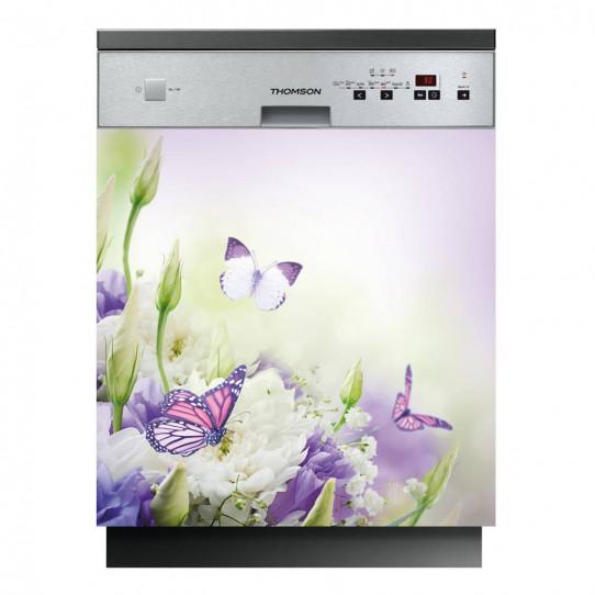 stickers lave vaisselle papillons des prix 50 moins. Black Bedroom Furniture Sets. Home Design Ideas