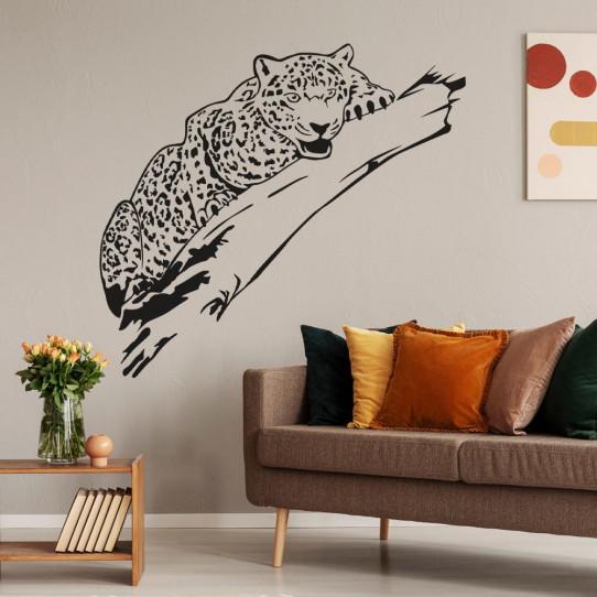 Stickers léopard