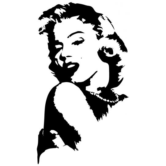 Stickers Marilyn Monroe