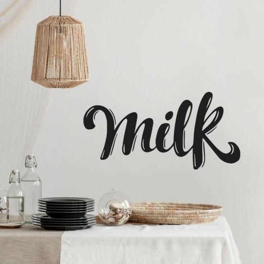 Stickers milk